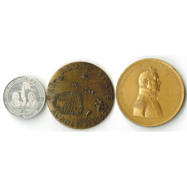 Trio of United States Commemorative Coins., 1900 to 1967.
