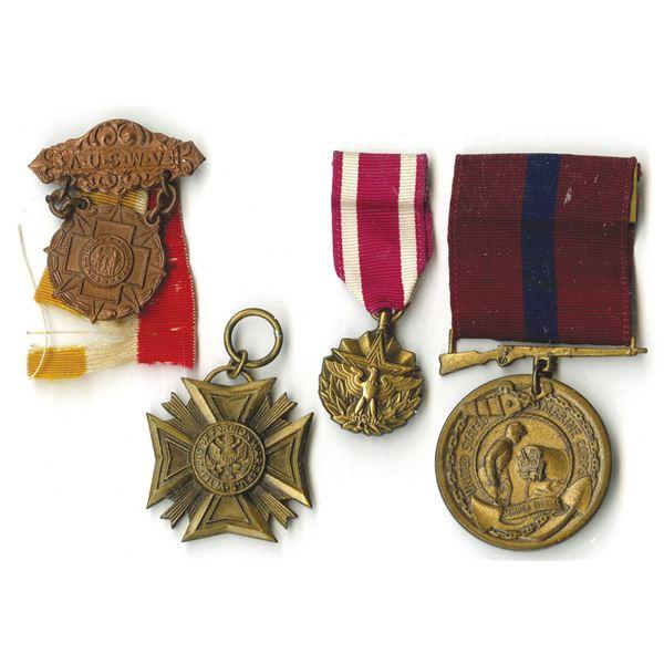 U.S. Military Medal Quartet, ca.1900-1970