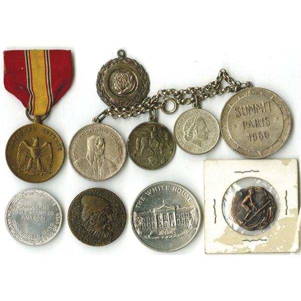 Assorted Commemorative Coins and Medal Group