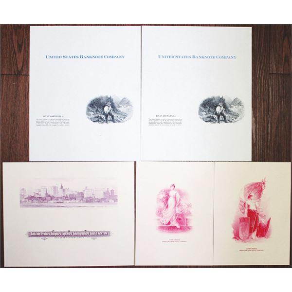 Thirteenth Biennial International Convention 1987 Folder with Proof Vignettes