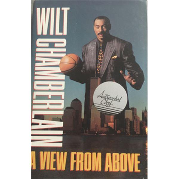 Wilt Chamberlain autographed Book