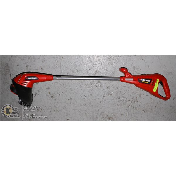 BLACK/DECKER - CORDLESS WEED WACKER CHARGER MISSING