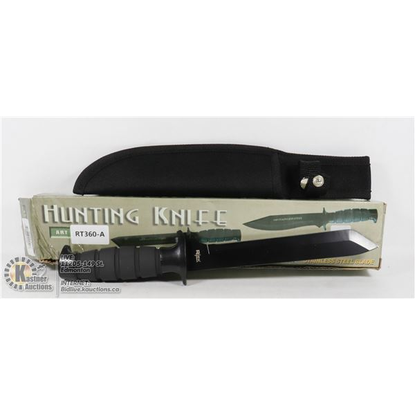 NEW 440 STAINLESS STEEL HUNTING KNIFE