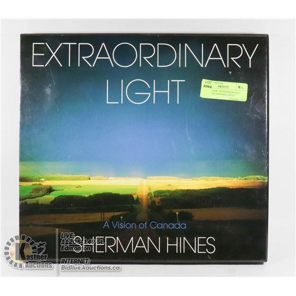 "PHOTOBOOK 'EXTRAORDINARY LIGHT"" BY SHERMAN HINES 1989 CANADIAN LANDSCAPE PHOTOGRAPHY"