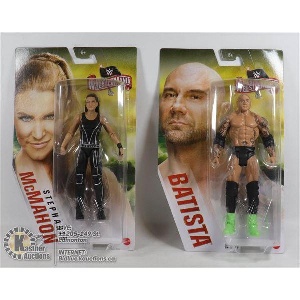 2 COLLECTIBLE WWE FIGURES
