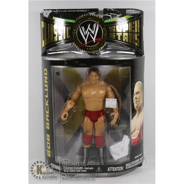 WWE CLASSIC SUPER STARS BOB BACKLUND COLLECTOR FIGURE
