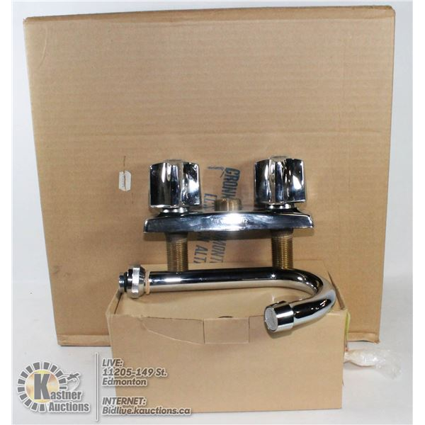 BAR SINK AND FAUCET BY WALTEC NEW IN SEALED BOXES. SINK IS RENDEZVOUS BY WALTEC, MODEL EL131   STAIN