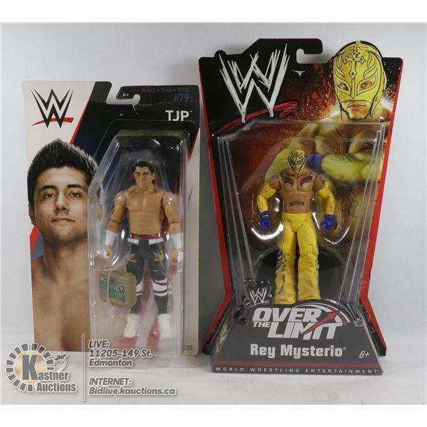 2 WWE COLLECTIBLE FIGURES
