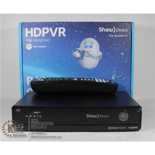 NEW SHAW HD RECEIVERS WIFI ENABLED.