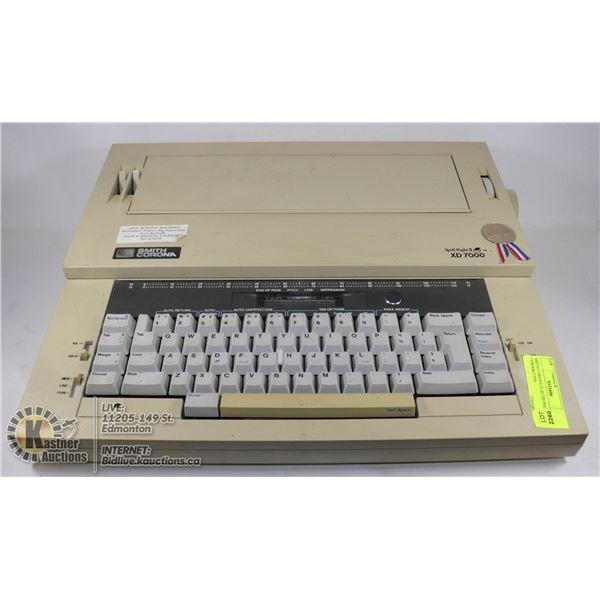 SMITH CORONA ELECTRONIC TYPEWRITTER