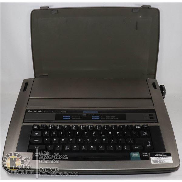 PANASONIC ELECTRONIC TYPEWRITER R320