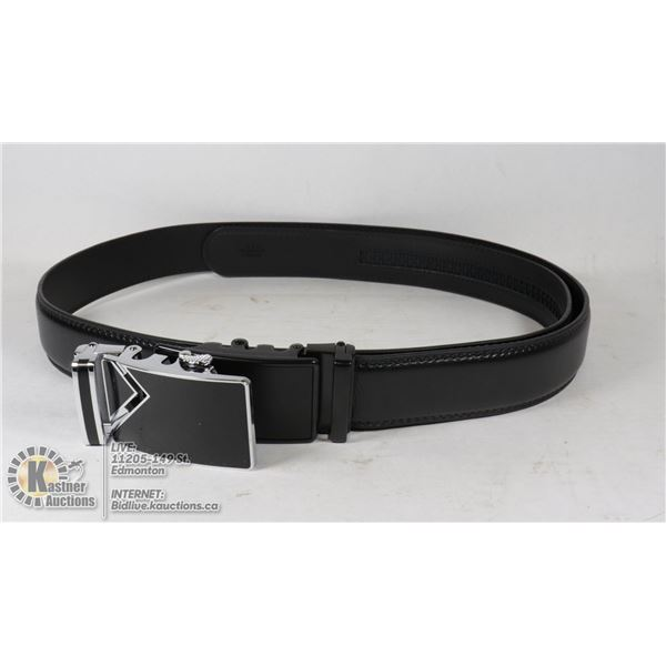 LEATHER BEALT WITH EXTRA BUCKLE