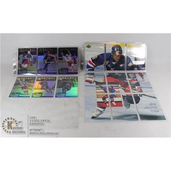 x15 WAYNE GRETZKY COLLECTORS HOCKEY CARDS