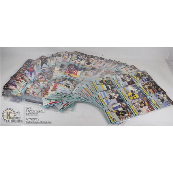 92-93 FLEER ULTRA SERIES 1 COMPLETE SET IN PAGES