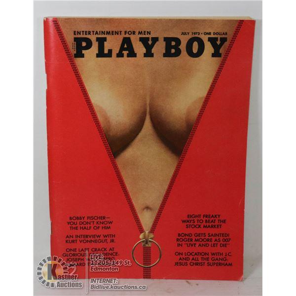 VINTAGE PLAYBOY JULY 1973