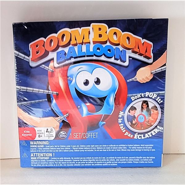 """3)  FACTORY SEALED """"BOOM BOOM BALLOON"""" GAME.  TOYS"""