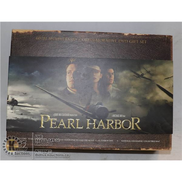 PEARL HARBOUR 60TH ANNIVERSARY COMMEMORATIVE GIFTSET (NEW IN BOX)
