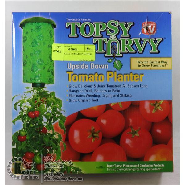 TOPSY TURVEY TOMATO PLANTER