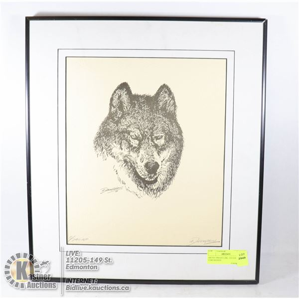 ARTIST PROOF LIMITED EDITION 5/240 SIGNED THOMPSON