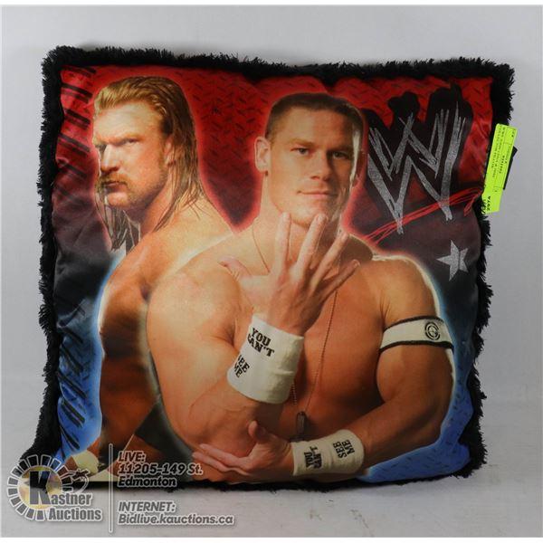 WWE JOHN CENA & HHH COLLECTOR PILLOW