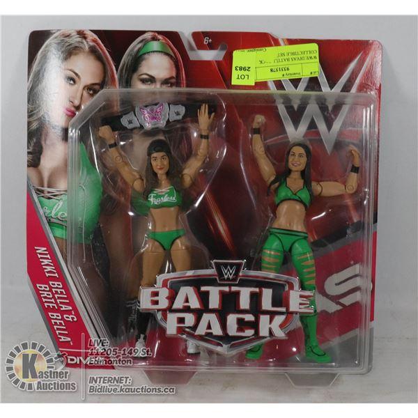 WWE DIVAS BATTLE PACK COLLECTIBLE SET