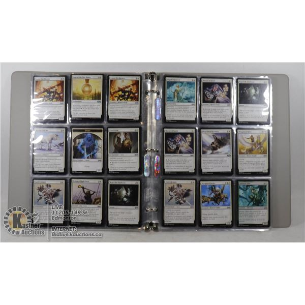 180 MAGIC THE GATHERING COLLECTIBLE CARDS IN NBIND