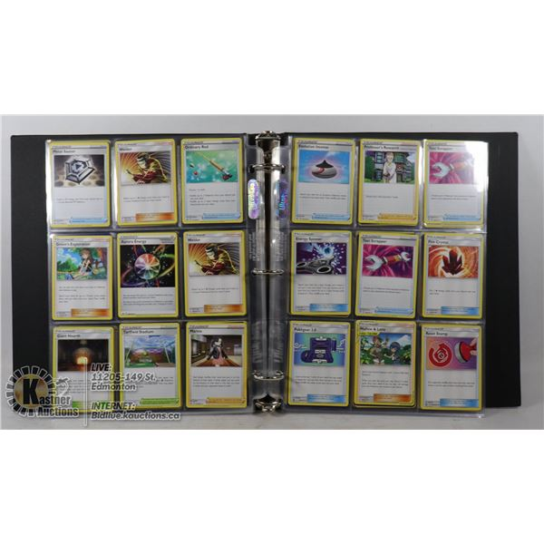 180 POKEMON COLLECTORS TRAINERS CARDS IN BINDER