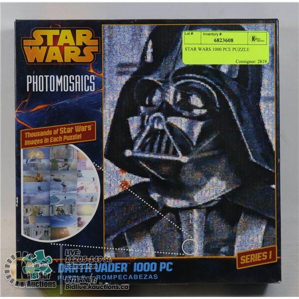 STAR WARS 1000 PCE PUZZLE DARTH VADER PHOTOMOSAIC NEW