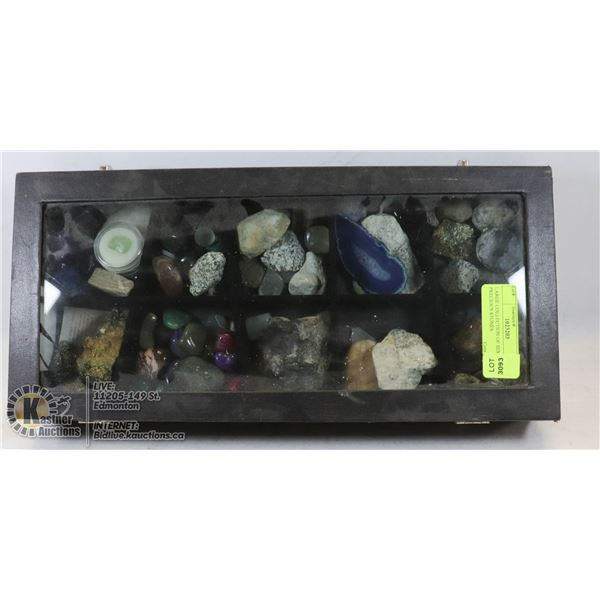 LARGE COLLECTION OF SEMI PRECIOUS STONES