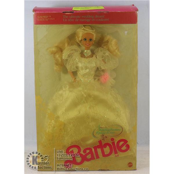 1989 BARBIE WEDDING UNOPENED - GOOD CONDITION