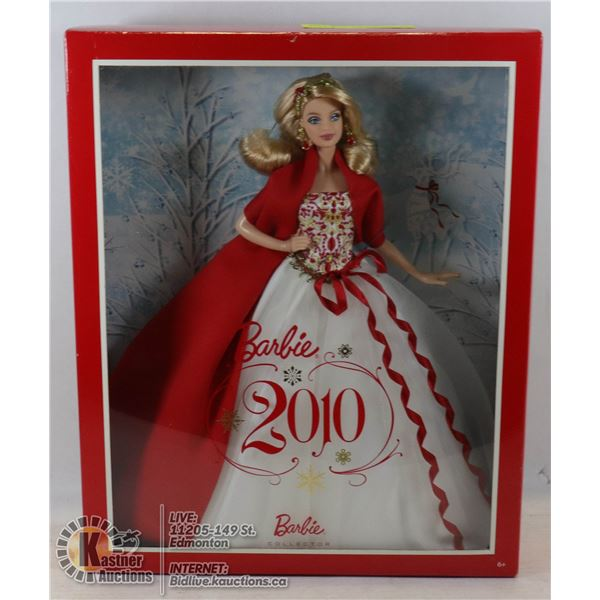 2010 HOLIDAY BARBIE UNOPENED - VERY GOOD CONDITION