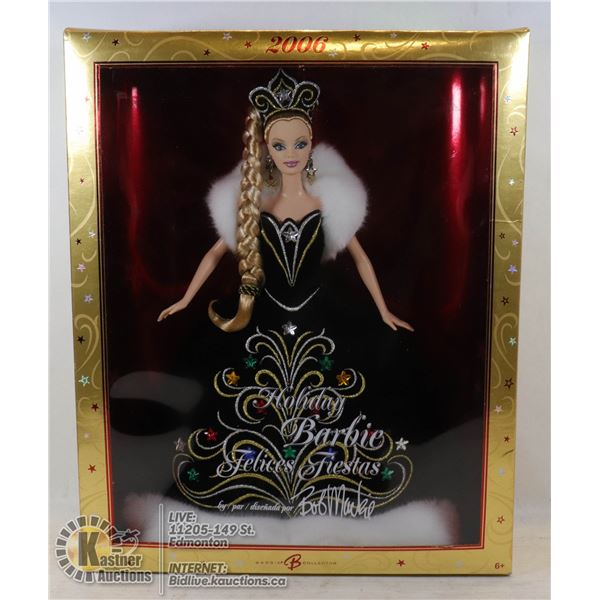 2006 HOLIDAY BARBIE UNOPENED - VERY GOOD CONDITION