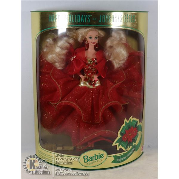 1993 HOLIDAY BARBIE UNOPENED - GOOD CONDITION