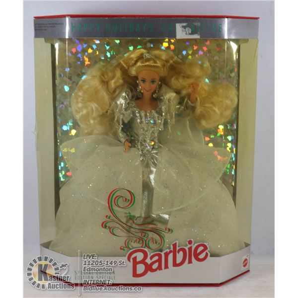 1992 HOLIDAY BARBIE UNOPENED - GOOD CONDITION