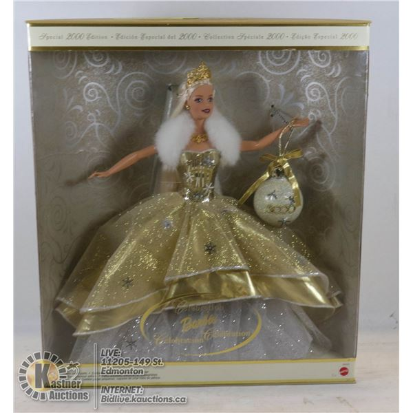 2000 HOLIDAY BARBIE UNOPENED - VERY GOOD CONDITION