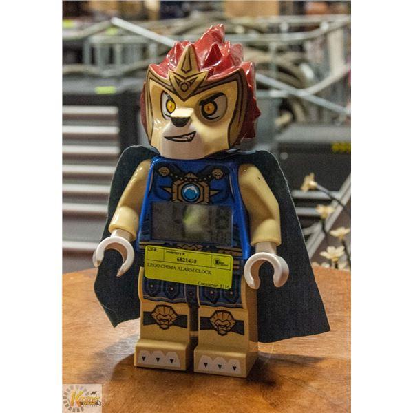 LEGO CHIMA ALARM CLOCK BATTERY OPERATED