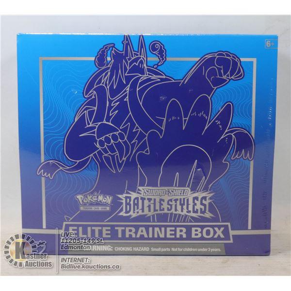 POKEMON BATTLE STYLES ELITE TRAINER BOX BOOSTERS E