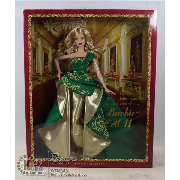 2011 HOLIDAY BARBIE UNOPENED - GOOD CONDITION