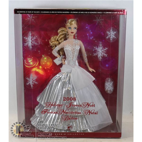 2008 HOLIDAY BARBIE UNOPENED - VERY GOOD CONDITION