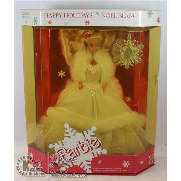 1989 HOLIDAY BARBIE UNOPENED - GOOD CONDITION