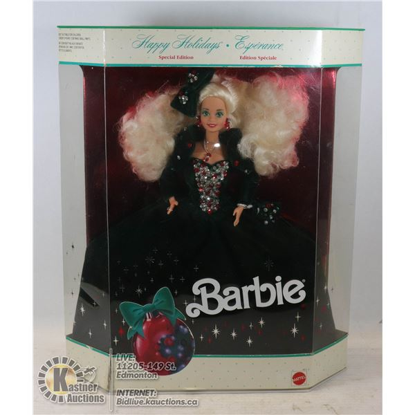 1991 HOLIDAY BARBIE UNOPENED - GOOD CONDITION