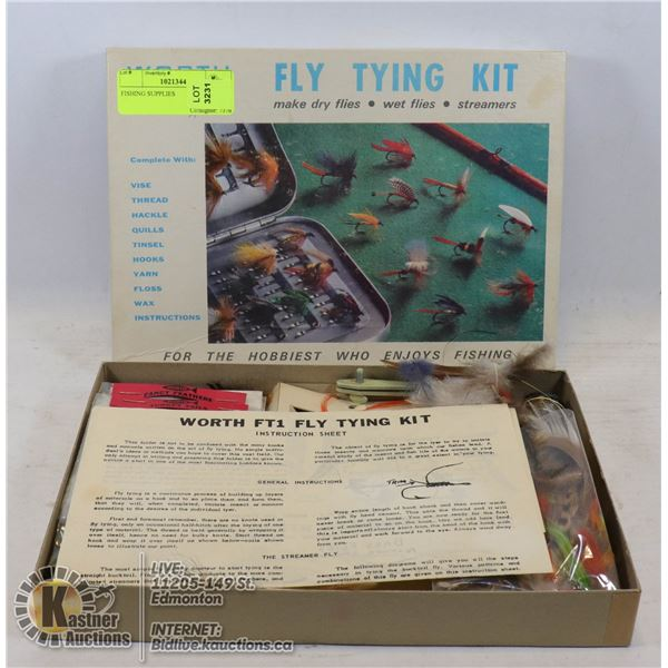 FISHING SUPPLIES KIT WITH HOOKS AND OTHER SUPPLIES
