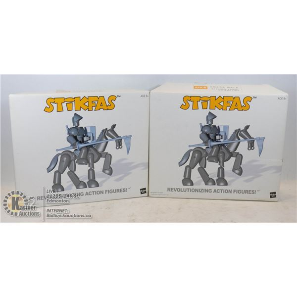 2 NEW BOXED ARMORED KNIGHTS