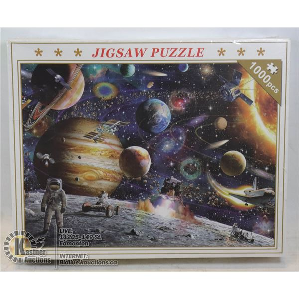 1000 PCS SPACE AND PLANETS JIGSAW PUZZLE