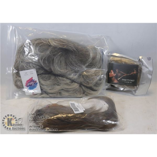 WIG AND HAIR EXTENSIONS