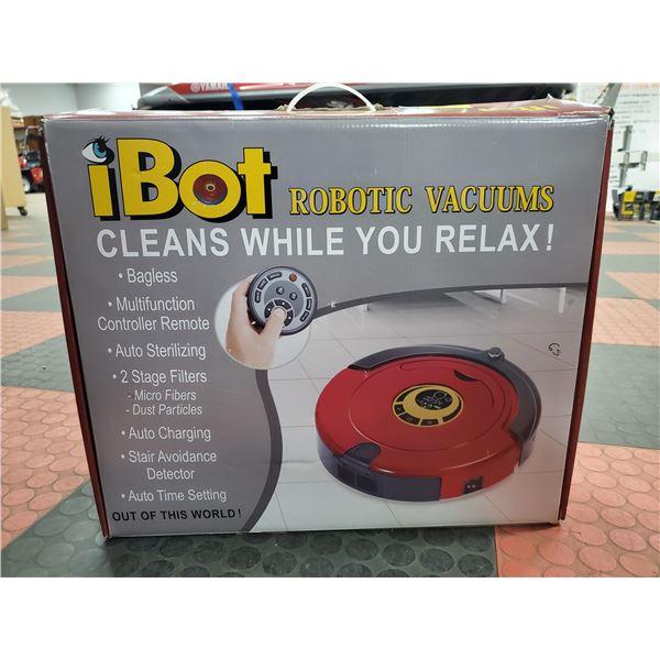 ROBOT VACUUM I BOT IN BOX