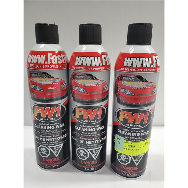 FW1BRAND NEW WASH & WAX PRODUCT