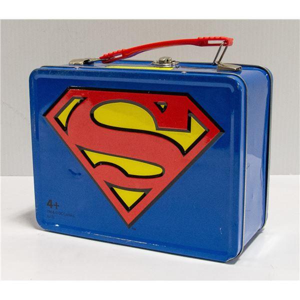 SUPER MAN LUNCH BOX