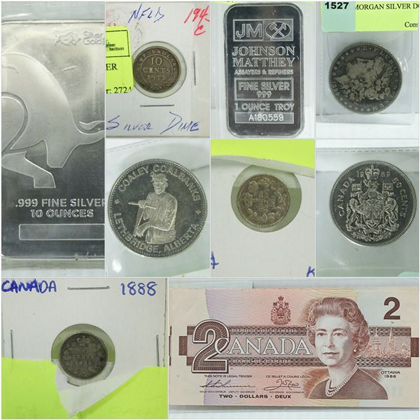 FEATURED COINS CURRENCY AND SHOWCASE ITEMS