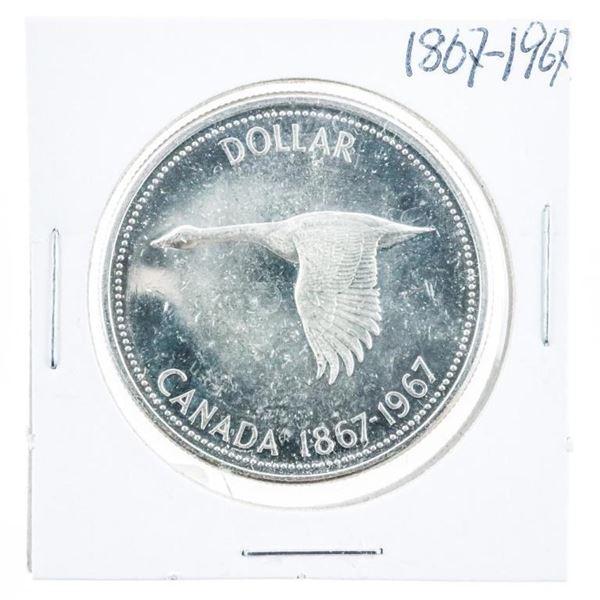 1867-1967 Canada Silver Dollar